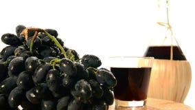om odosobnione waite czerwonego wina zbiory wideo