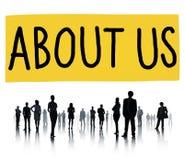 Om oss begrepp för information om informationsmedlemskap Fotografering för Bildbyråer