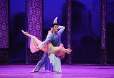 Om over zijn de eigen-tweede handeling van de gebeurtenissen van dans drama-Shawan van het verleden te vergeten Royalty-vrije Stock Afbeelding