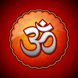 Om sanskrit symbol Royalty Free Stock Images
