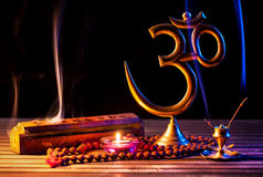Om shanti Royalty Free Stock Photos