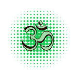 Om sign comics icon Royalty Free Stock Images