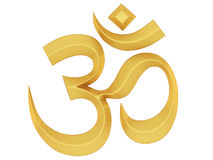 Om Symbol Stock Photos