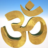 Om symbol Royalty Free Stock Photo