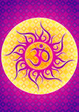 OM symbol illustration Stock Photography