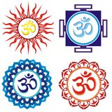 Om symbols Royalty Free Stock Images