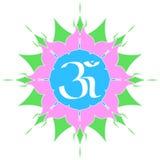 Om Symbool Stock Afbeelding
