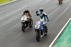 Om 3 - van 2017 van de Motorfinanciën van Yamaha Kampioenschap van Superbike het Australische Stock Afbeeldingen
