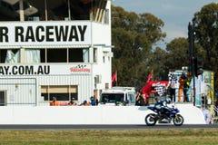 Om 3 - van 2017 van de Motorfinanciën van Yamaha Kampioenschap van Superbike het Australische Royalty-vrije Stock Foto's