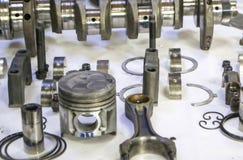 Om voor reparatie oude dieselmotor te ontmantelen Royalty-vrije Stock Foto