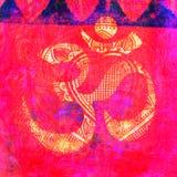 OM Znak Obrazy Royalty Free