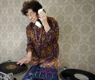 Oma DJ royalty-vrije stock foto's