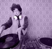 Oma DJ stockfotos