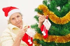 Ältere reife Socke Oma