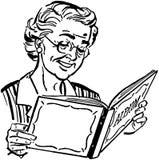 Oma met Fotoalbum Royalty-vrije Stock Fotografie
