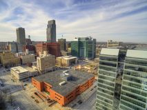 Omaha é Major Urban Center e uma cidade a maior no estado de Nebraska imagem de stock royalty free
