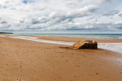 Omaha Beach Royalty Free Stock Image