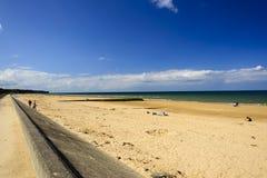 Omaha Beach Fotografering för Bildbyråer