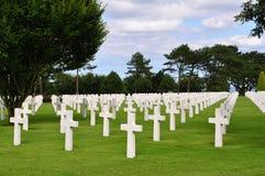 Omaha Beach Cemetery Stock Image