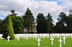 Omaha Beach Cemetery Stock Photography