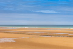 Omaha Beach, France. Stock Photos