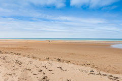 Omaha Beach, France. Royalty Free Stock Photo