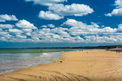 Omaha Beach stock photo