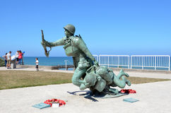 Omaha Beach, Frankreich lizenzfreie stockfotos