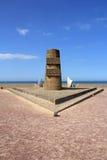 Omaha Beach Memorial Arkivbilder