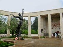 Omaha Beach Memorial immagini stock libere da diritti
