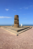Omaha Beach Memorial Stock Images