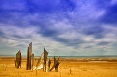 Omaha beach, Normandy Royalty Free Stock Image