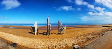 Omaha Beach Stock Image