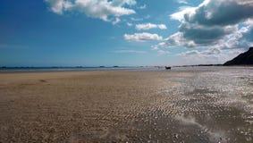 Omaha beach Royalty Free Stock Photography