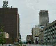 Omaha céntrica, Nebraska Foto de archivo libre de regalías