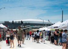 Omaha farmers market on a Sunday royalty free stock image