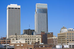 Omaha, Nebraska - del centro Fotografia Stock Libera da Diritti