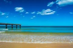 Omaha plaża obraz stock