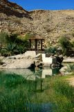 Oman. Wadi Tiwi in Oman, Middle East Royalty Free Stock Images