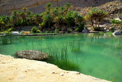 Oman. Wadi Tiwi in Oman, Middle East Royalty Free Stock Photography