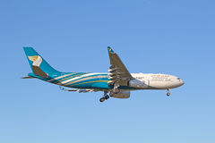 Oman Air A-330 Royalty Free Stock Image