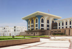 Oman. The Al Alam Palace. Royalty Free Stock Photos