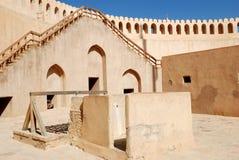 Oman ancient castle Stock Photo