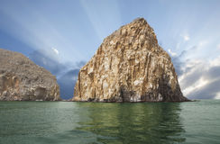 Oman. Arab fjords. Royalty Free Stock Photography