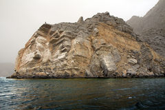 Oman. Arab fjords. Stock Photography