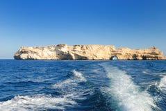 Oman Arabian sea Royalty Free Stock Photography
