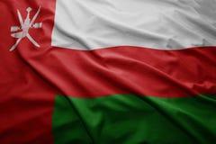 Oman bandery Zdjęcie Stock