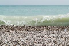 Oman beach. A beautiful beach close to city Sur, Oman stock images