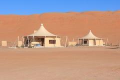 oman beduińscy namioty Obrazy Royalty Free