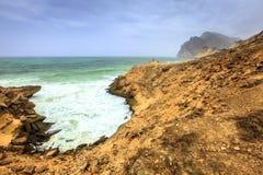 Oman coastline Royalty Free Stock Image